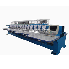 Electronic New Condition 15 heads high speed flat computerized embroidery machine price