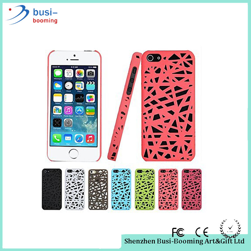 2016 New Arrival Colorful Mesh Protective Plastic 3D Bird Nest Style Case For Iphone 6Plus Wholesale Cheap