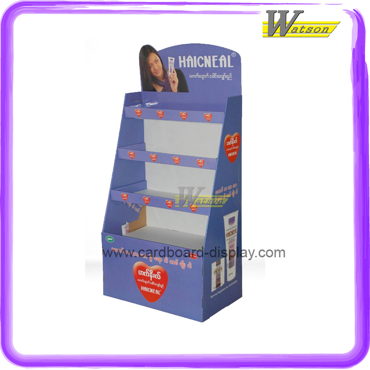 Pop Promotional Cardboard Display Stand for Health Care Products or Health Care Drugs