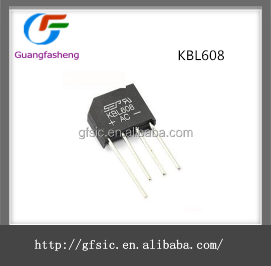 Silicon Bridge Rectifiers Chips IC with KBL608