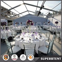 China indian marquee tents transparent clear roof wedding tent