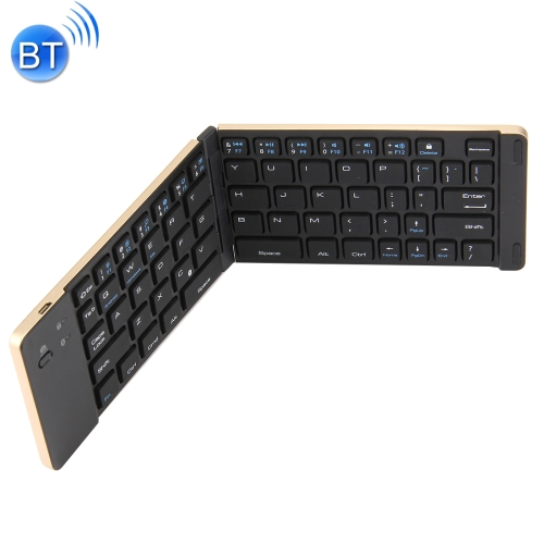 New Arrival 66 Keys Foldable Bluetooth Wireless Keyboard