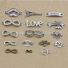 jewelry making raw material, infinity material, jewelry infinity charms for making necklace bracelet