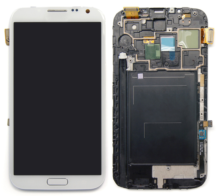 Smart phone LCD Screen digitizer assembly for samsung galaxy Note 2 lcd N7100 lcd touch screen