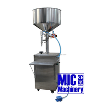MICMachinery Pedal control with CE Certification Manual Orange Juice Filling Machine