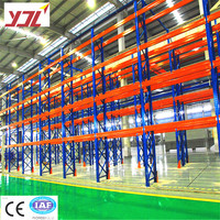 Chinese supplier heavy duty US teardrop pallet rack warehouse racking