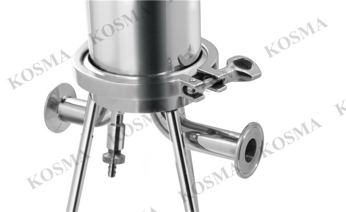 SUS316 Stainless Steel liquid Filter Housings for apple juice filtration