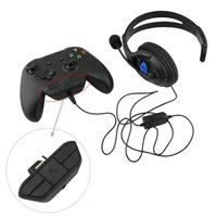 For Xbox One Headset Adapter Headphone Converter Stereo Headset Adapter For Xbox One