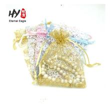 High quality multi-purpose disposable christmas organza tree bag