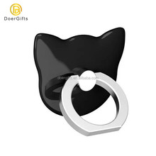 Custom Sticky Finger Ring Stand Smart Phone 360 Degree Rotation Mobile Ring Holder