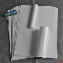 gloss A4 integrated label sheet Die cutting PP a4 sticker paper