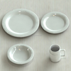 Quality Products China Dinnerware White Fine Porcelain Dinner Set
