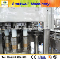tin can energy drinks/carboned /non carboned filling machine