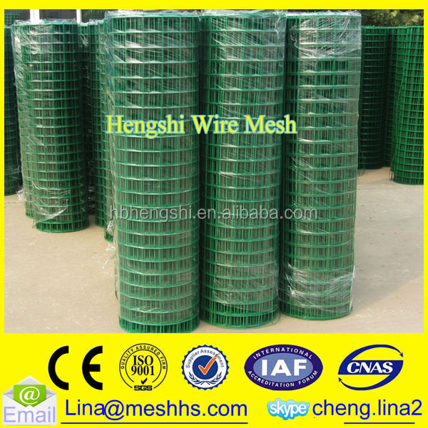 1/2 inch plastic coated welded wire mesh