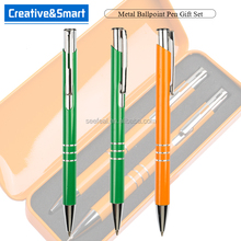 Stationery Manufacturer High End Promo Gift 1 Dollar Products Ball-point Pen With Custom Logo/ Pen Metal/ Pen Promotion