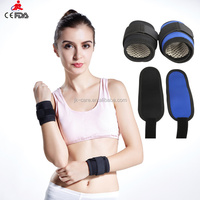 2015 new fashion coloful elastic fitness wrist band / belt