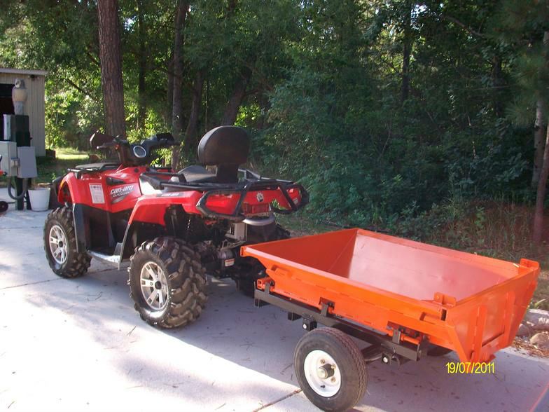 Dual Purpose ATV Trailer
