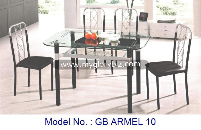 2014 new design glass dining set for sale