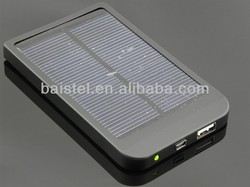 wholesale mobile solar charger /usb power bank 2600mah with full capacity