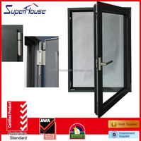 pvc sliding glass window hot sale in China comply with AS2047 standard