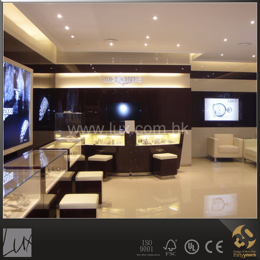 Popular Watches And Jewellery Store Interior Layout Design
