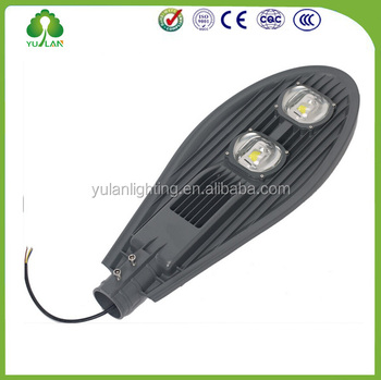 30w-200w led street light manufacturers price list/50w led street light housing