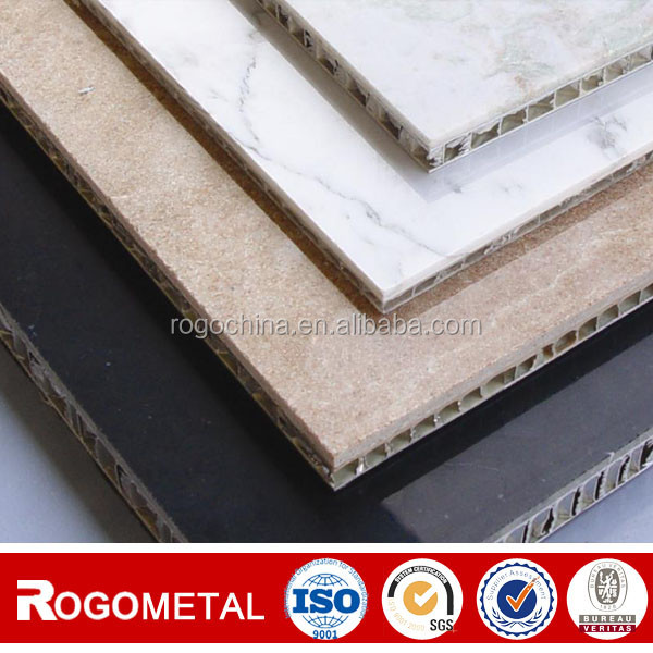 Aluminum Foil Thickness 0.04-1.2mm Composite Honeycomb Panel Materials with A3003/A5052
