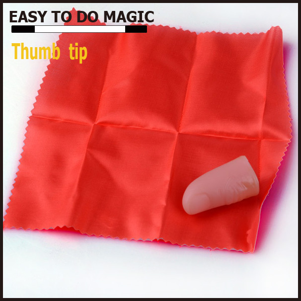wholesale magic trick Thumb tip silk magic