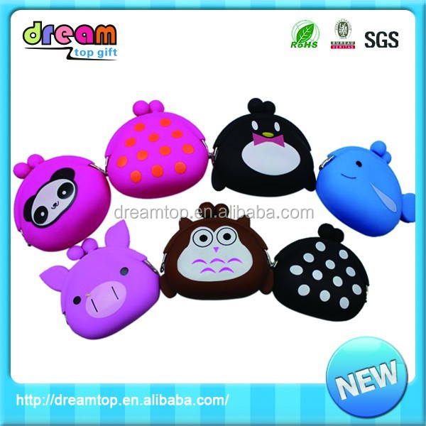 Most popular direct factory ladies mini silicone purse