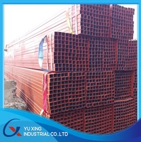 Square/Rectangular Steel Pipe/Mild Steel Hollow Section/SHS Supplier 100X100MM