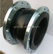 Single Sphere Rubber Expansion Joint With Flange End