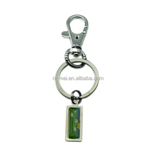 QR spiral key chain extender long chain