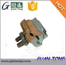 Extruded Parallel Groove Clamp for bimetal connection