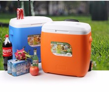 CF3800W 38L plastic cooler box ice cooler promotion carlsberg beer bottle ice box cooler