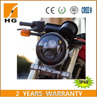 New Approval 65w 7'' high low beam led headlight for Honda moto