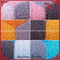 Baoman promotional 100% cotton yarn terry dobby towel