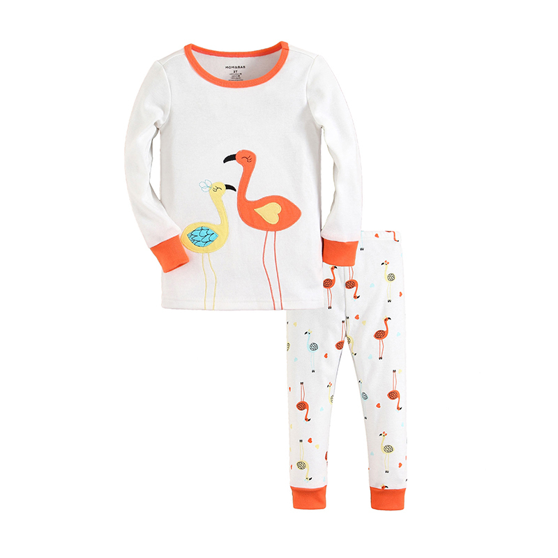 2015 baby clothes 100% cotton knitted pajamas sets