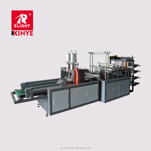 High Speed Computer Control Four Line Flat Bag Making Machine