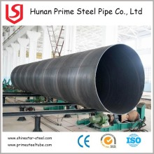 API 5L steel pipes schedule 40 ssaw spiral welded pipe water line / pipe / tube