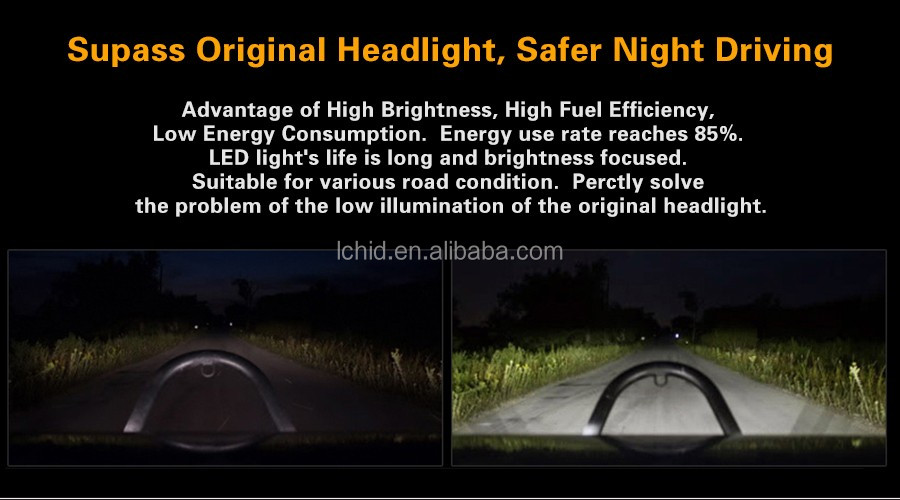 HOT SALE 7 inches LED headlight assembly dragon version 45W for Jeep Wrangler headlamp