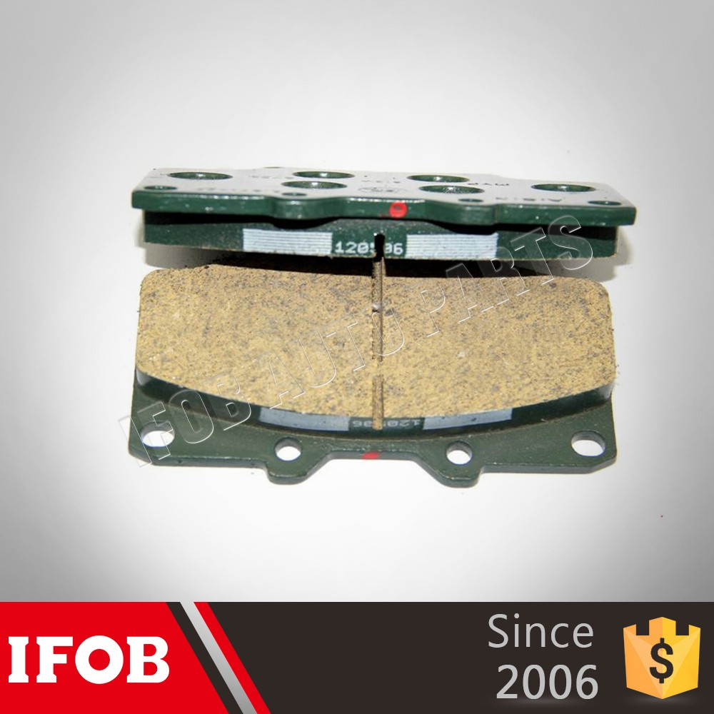 auto spare parts manufacturer the Semi-metal brake pads for Toyota Land Cruiser HDJ80 04465-60020