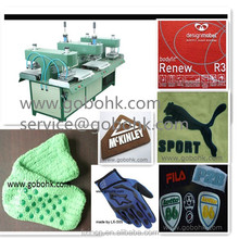Fast-speed silicone trademark forming machine,label making machine,trademark machine