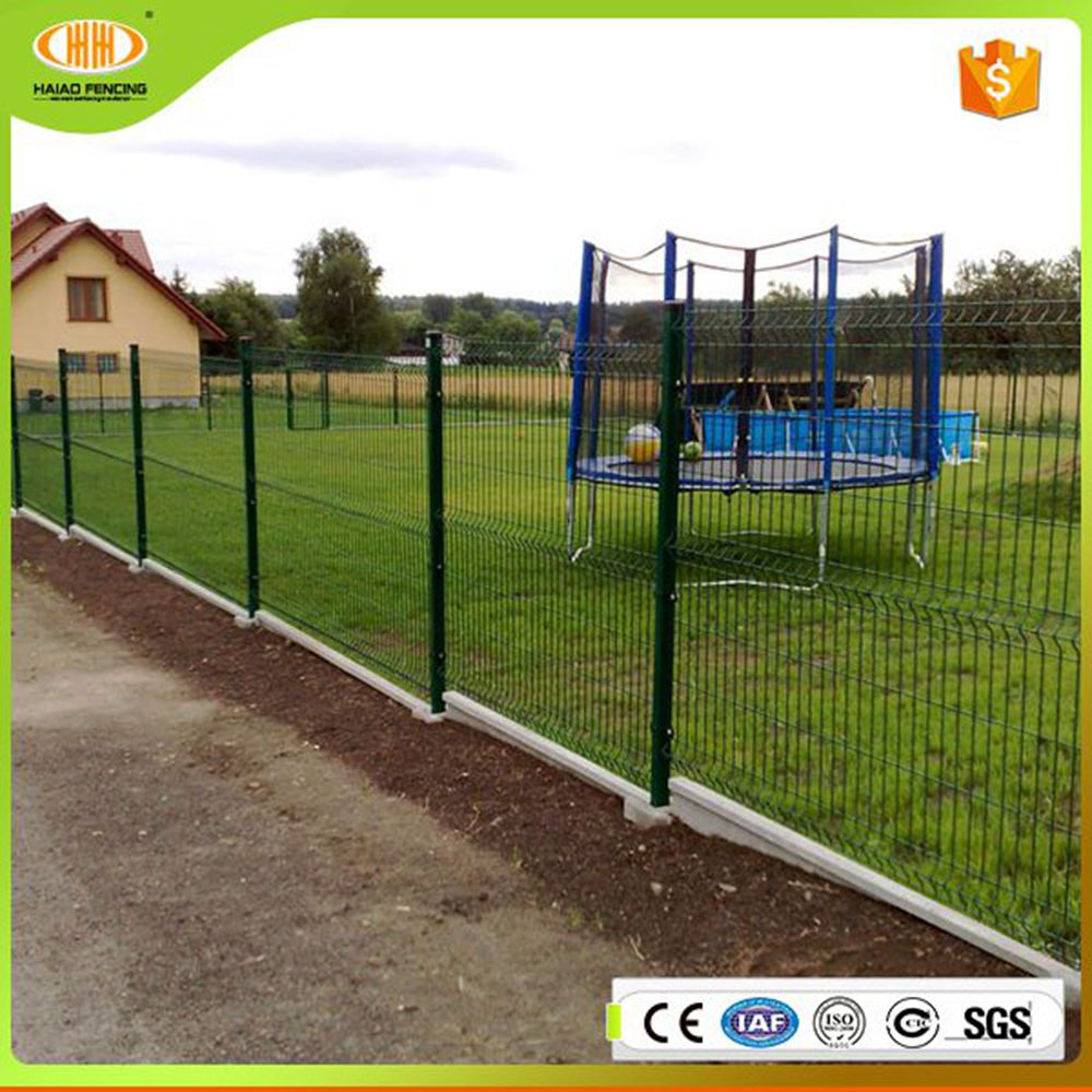 Online shopping cheap and hot sales pvc fence/triangle metal fencing/fence post