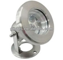 Super-brightness IP68 3w swimming pool light underwater