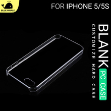 For Cheap Mobile Iphone 5 Shell, Blank Clear Ultra Thin Case For Iphone 5, For Clear Unbreakable Back Iphone 5 Blank Case Cover