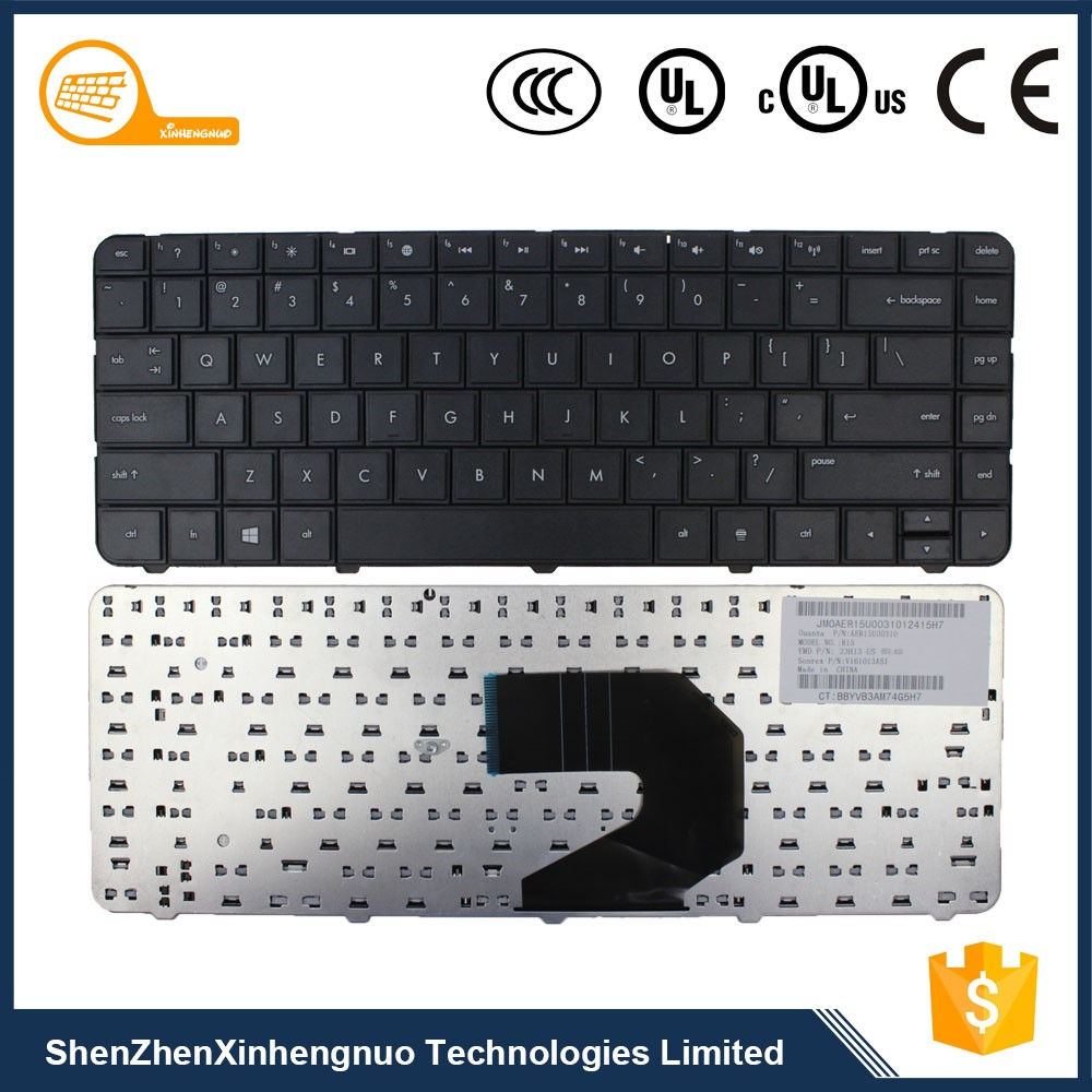 Hot selling Aamazon Black Laptop with Arabic English Keyboard Weight for Hp