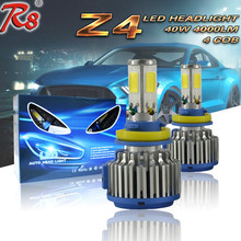 Popular H8 H9 H11 COB LED Bus Headlights Z4 G5 Bi Xenon LED Headlights For VW Polo 6r