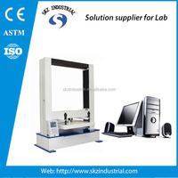 touch screen corrugated box compression strength tester