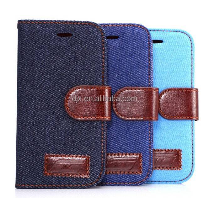 2015 Novel Fabric Jean Mobile Phone Cases