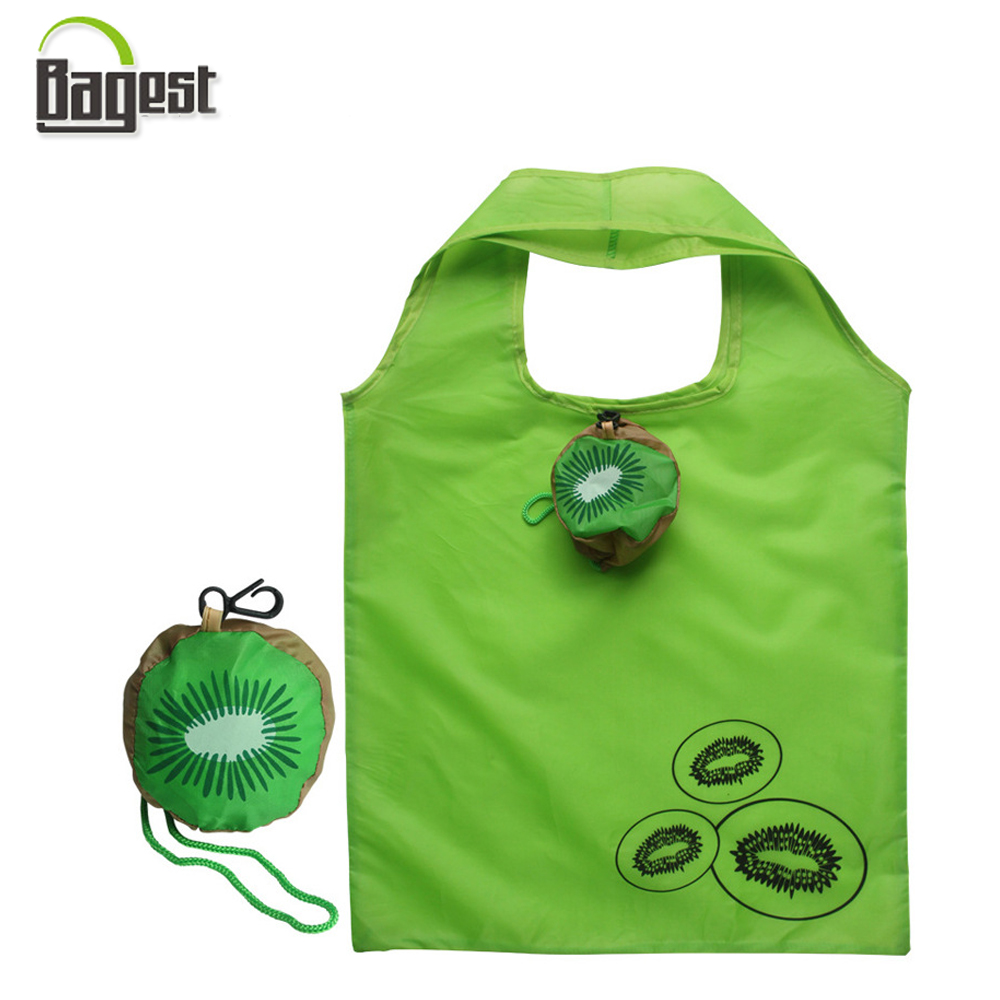 Customized Color Foldable Soft 210D Polyester Tote Shopping Bag